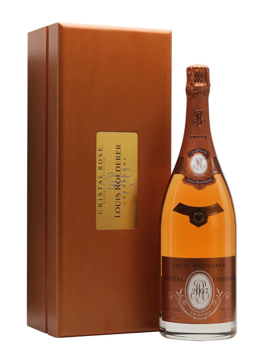 Louis Roederer Cristal Rose 2007 Champagne