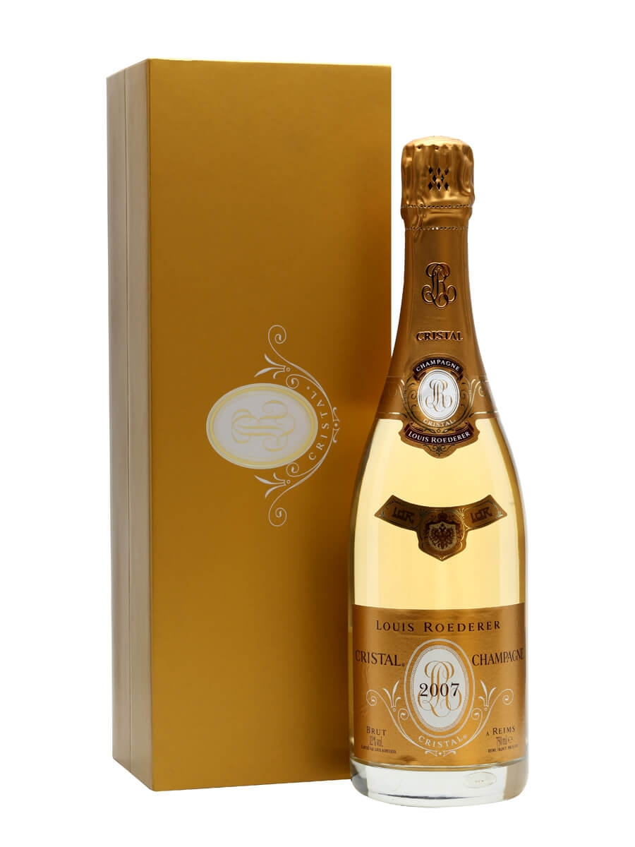 louis roederer cristal brut 2007 champagne the whisky exchange. Black Bedroom Furniture Sets. Home Design Ideas
