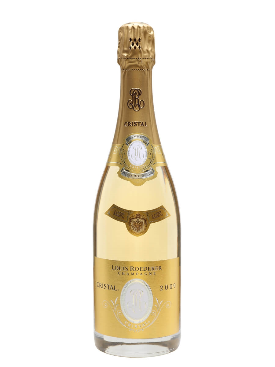 louis roederer cristal brut 2009 champagne the whisky exchange. Black Bedroom Furniture Sets. Home Design Ideas