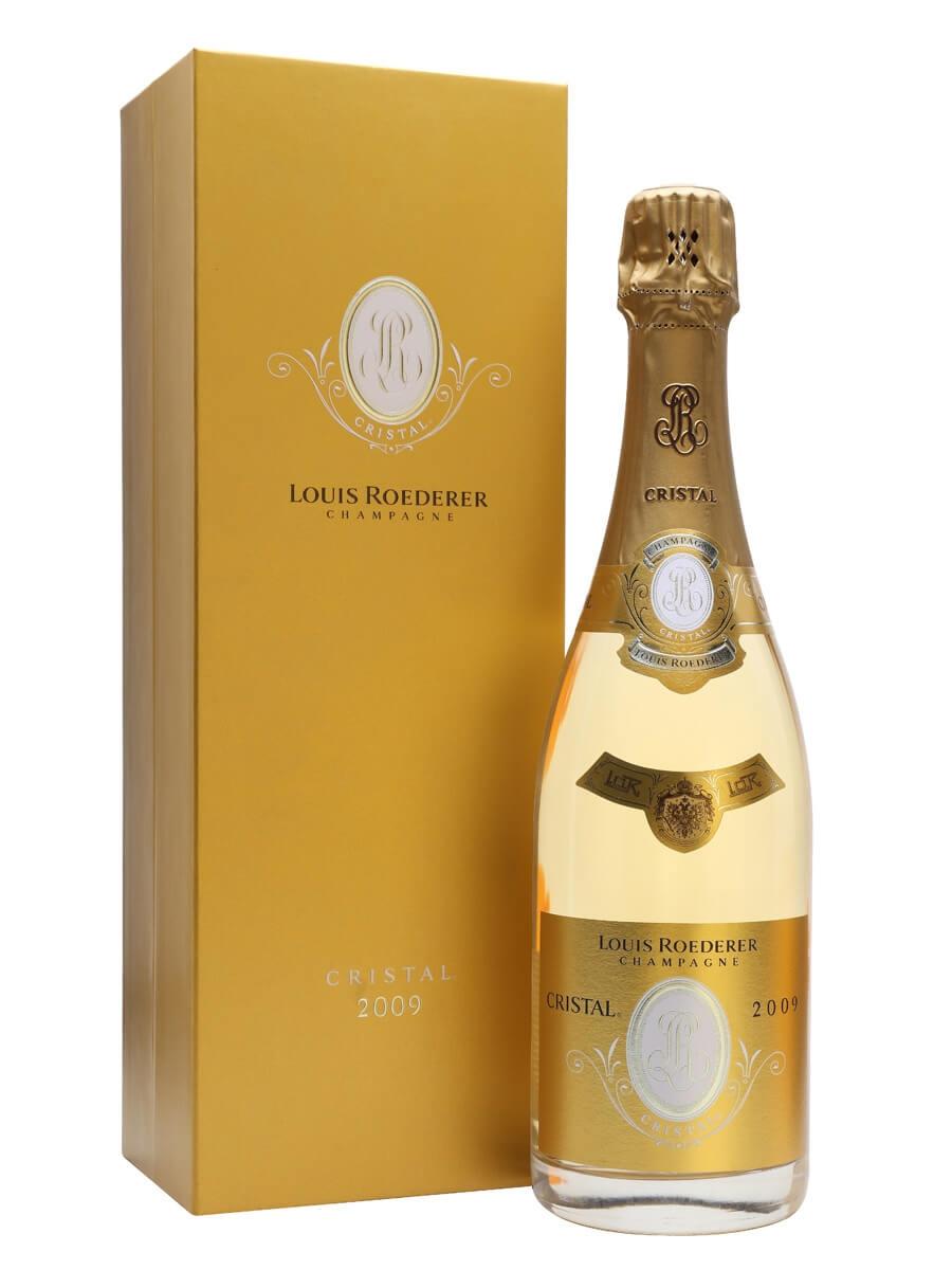 Louis Roederer Cristal Brut 2009 Champagne Gift Box