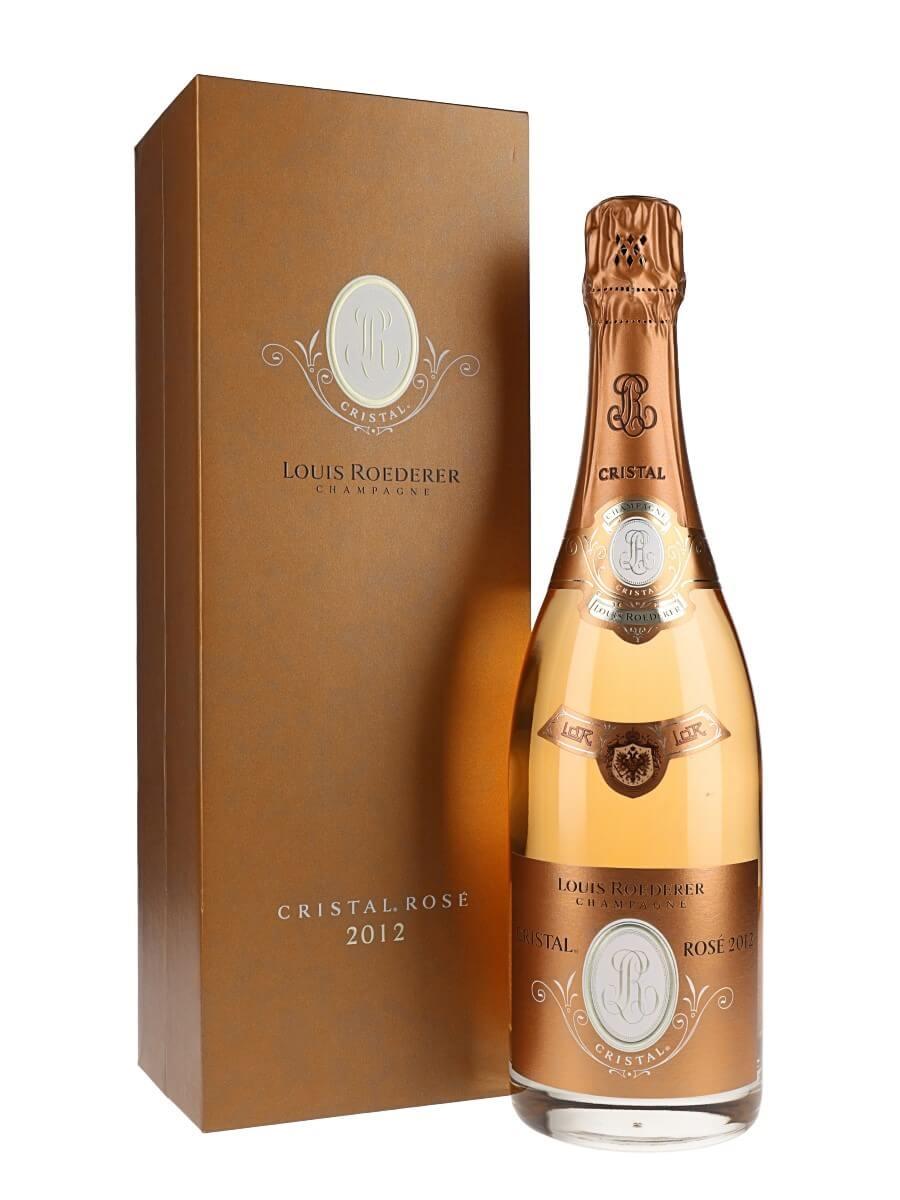 Louis Roederer Cristal 2012 Rosé Champagne
