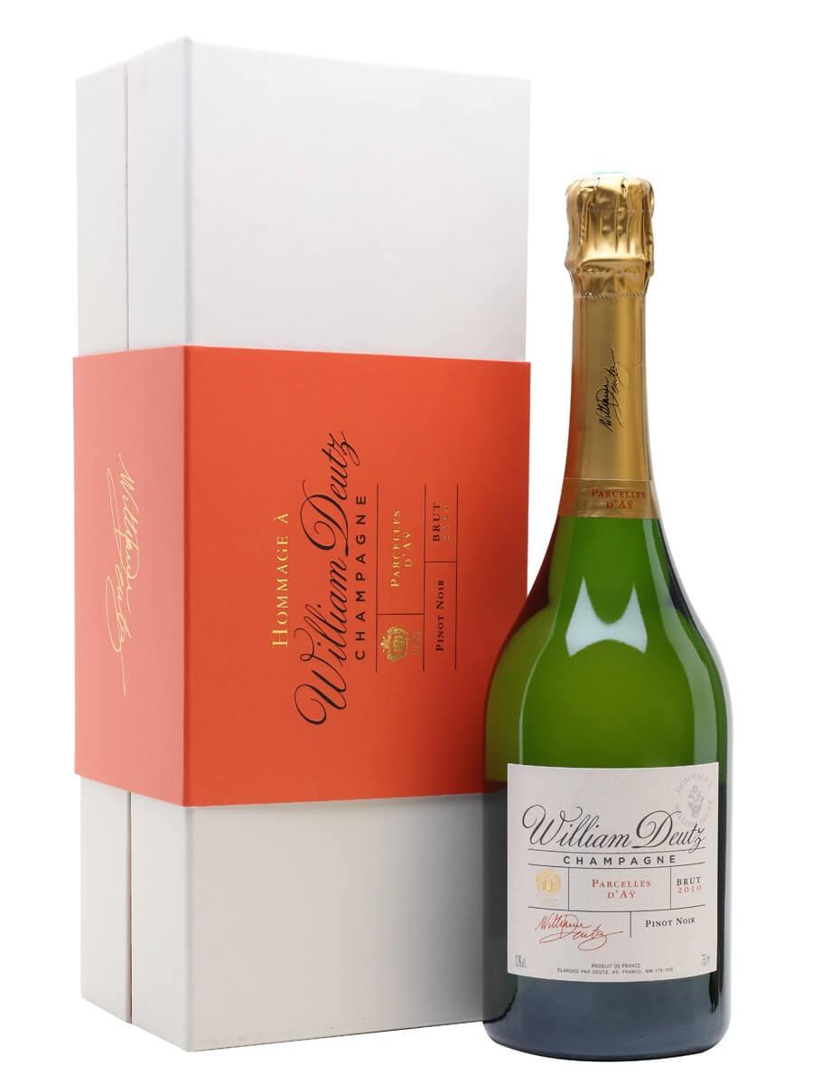 Champagne Hommage à William Deutz Parcelles d'Ay 2010