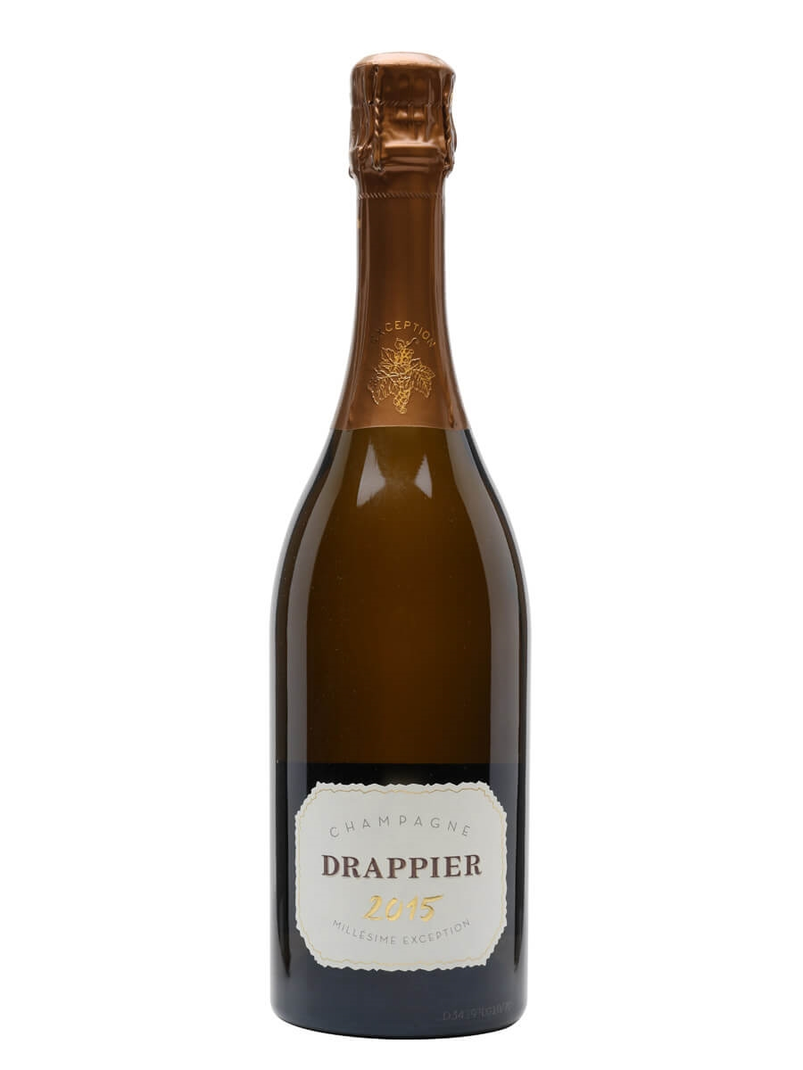 Drappier Millésime Exception 2015 Champagne