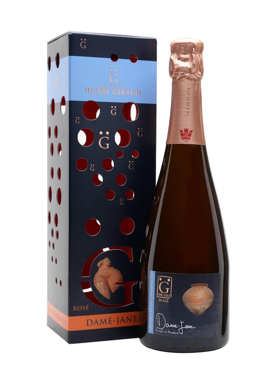 Henri Giraud Dame-Jane Rose Champagne / Gift Box