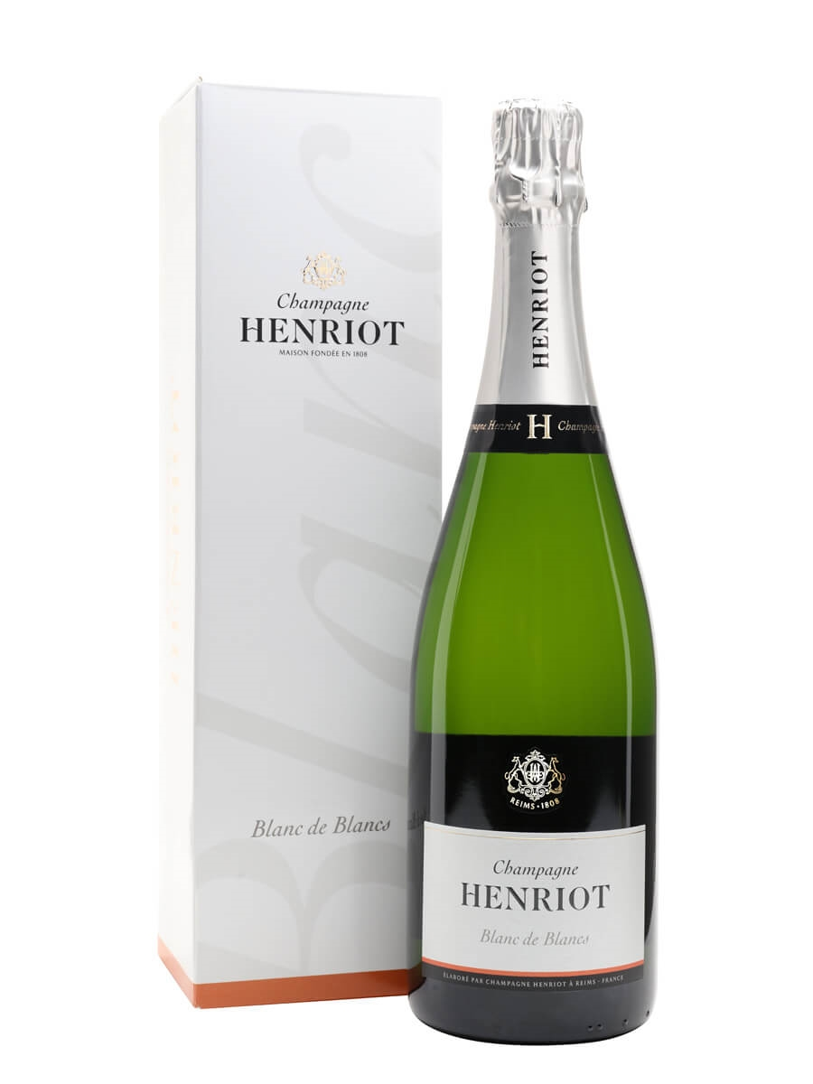 Henriot blanc de blancs champagne the whisky exchange for Belle jardin blanc de blancs