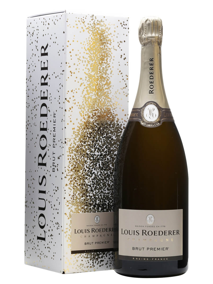 louis roederer brut premier nv champagne magnum the whisky exchange. Black Bedroom Furniture Sets. Home Design Ideas