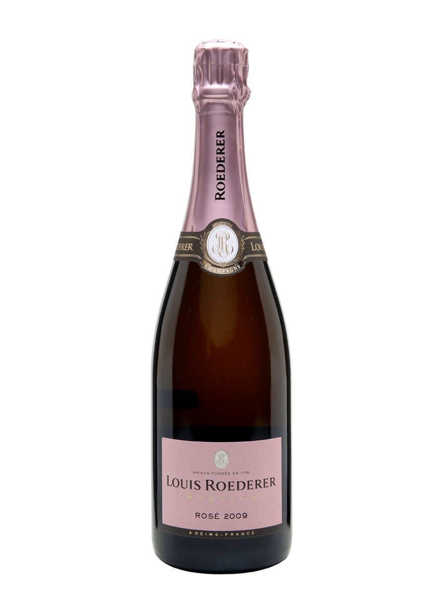 louis roederer 2009 rose champagne the whisky exchange. Black Bedroom Furniture Sets. Home Design Ideas