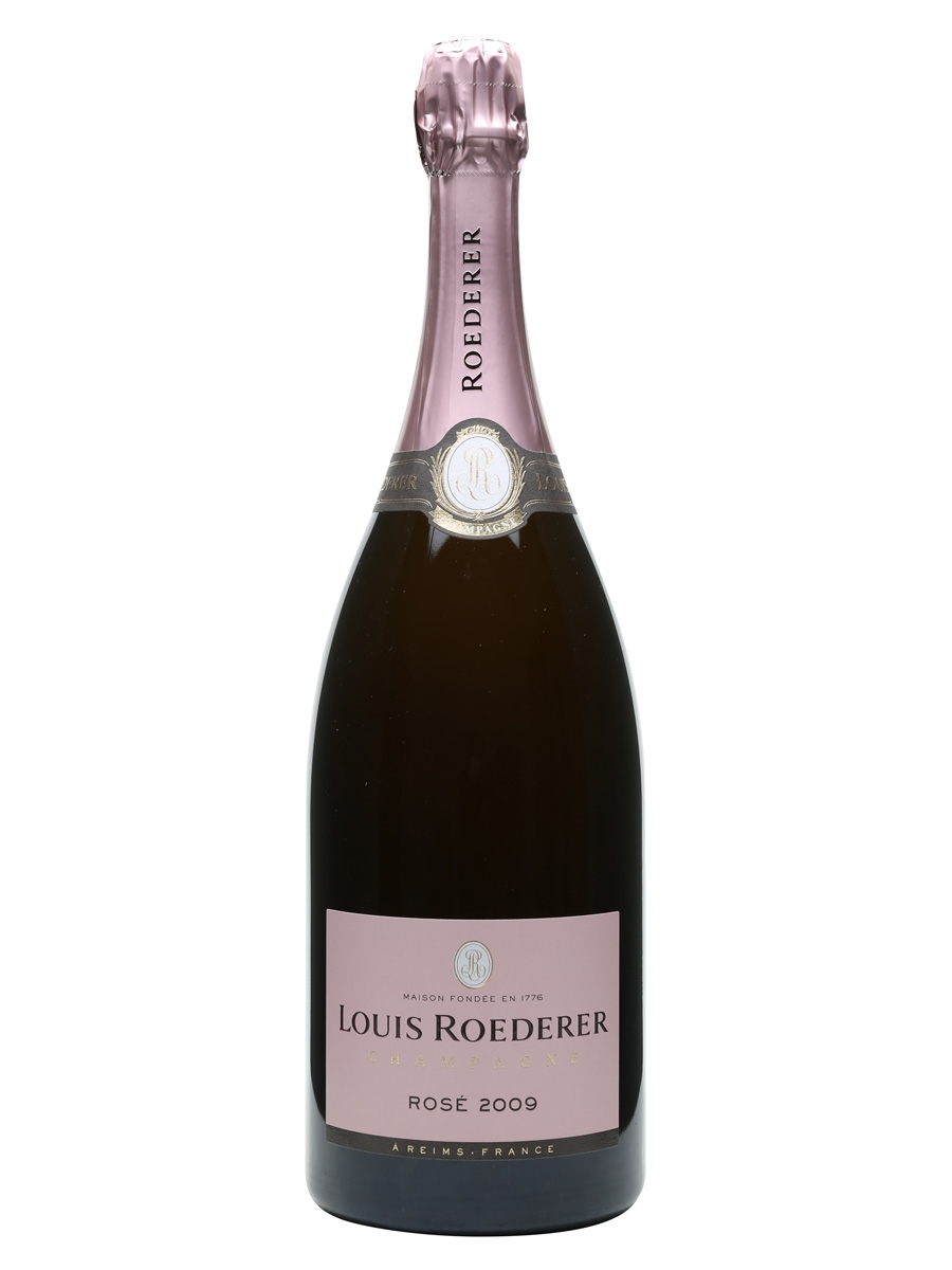 louis roederer 2009 rose champagne magnum the whisky exchange. Black Bedroom Furniture Sets. Home Design Ideas