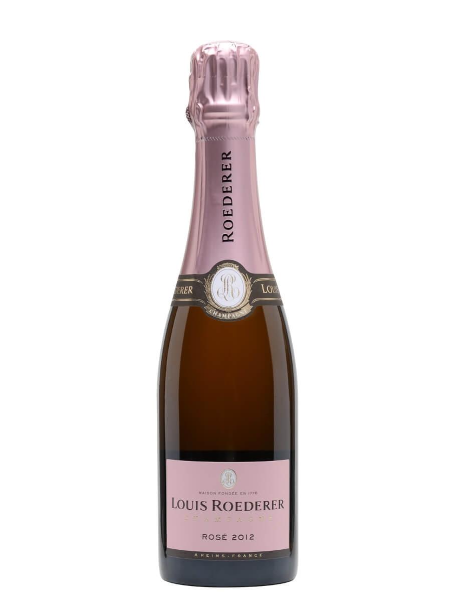 Louis Roederer Rose Vintage 2012 Champagne / Half Bottle