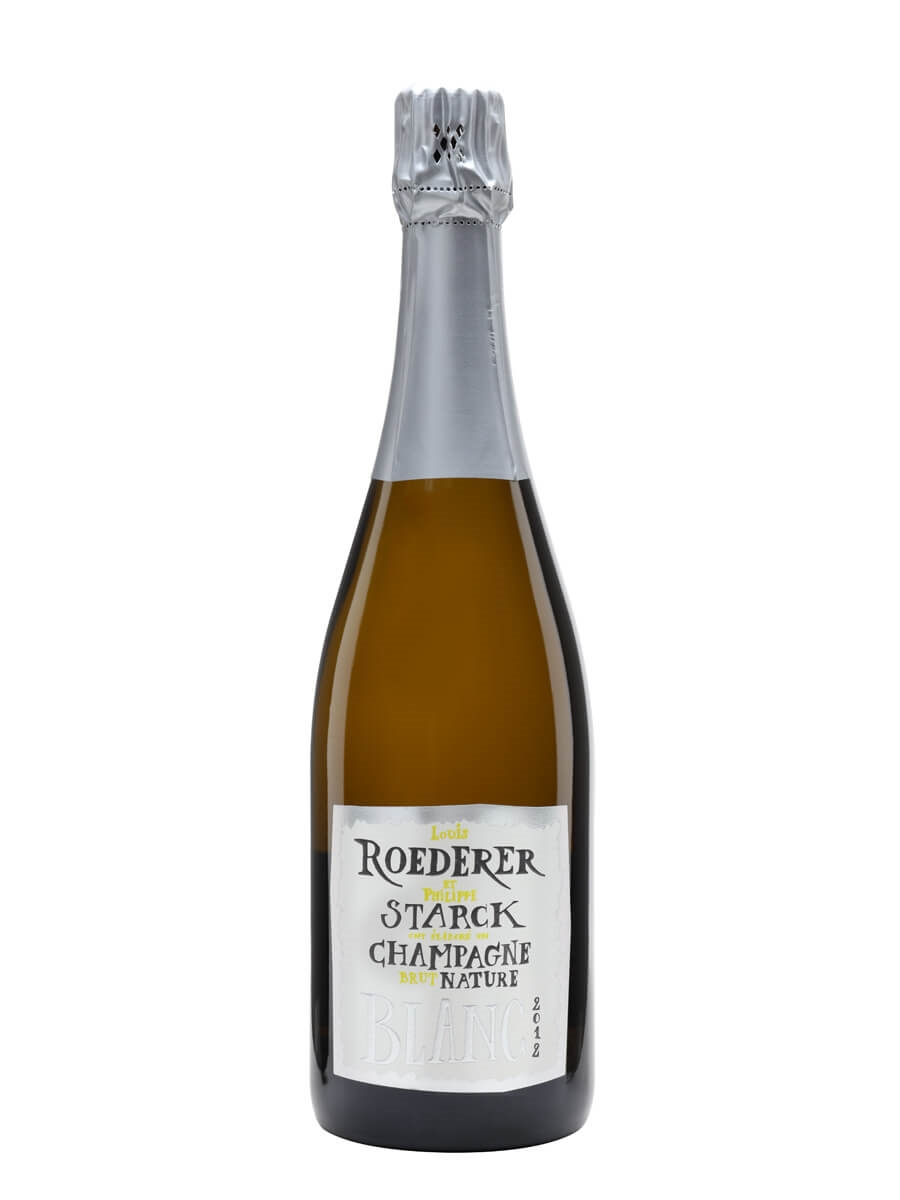 Louis Roederer Brut Nature 2012 Champagne / Philippe Starck