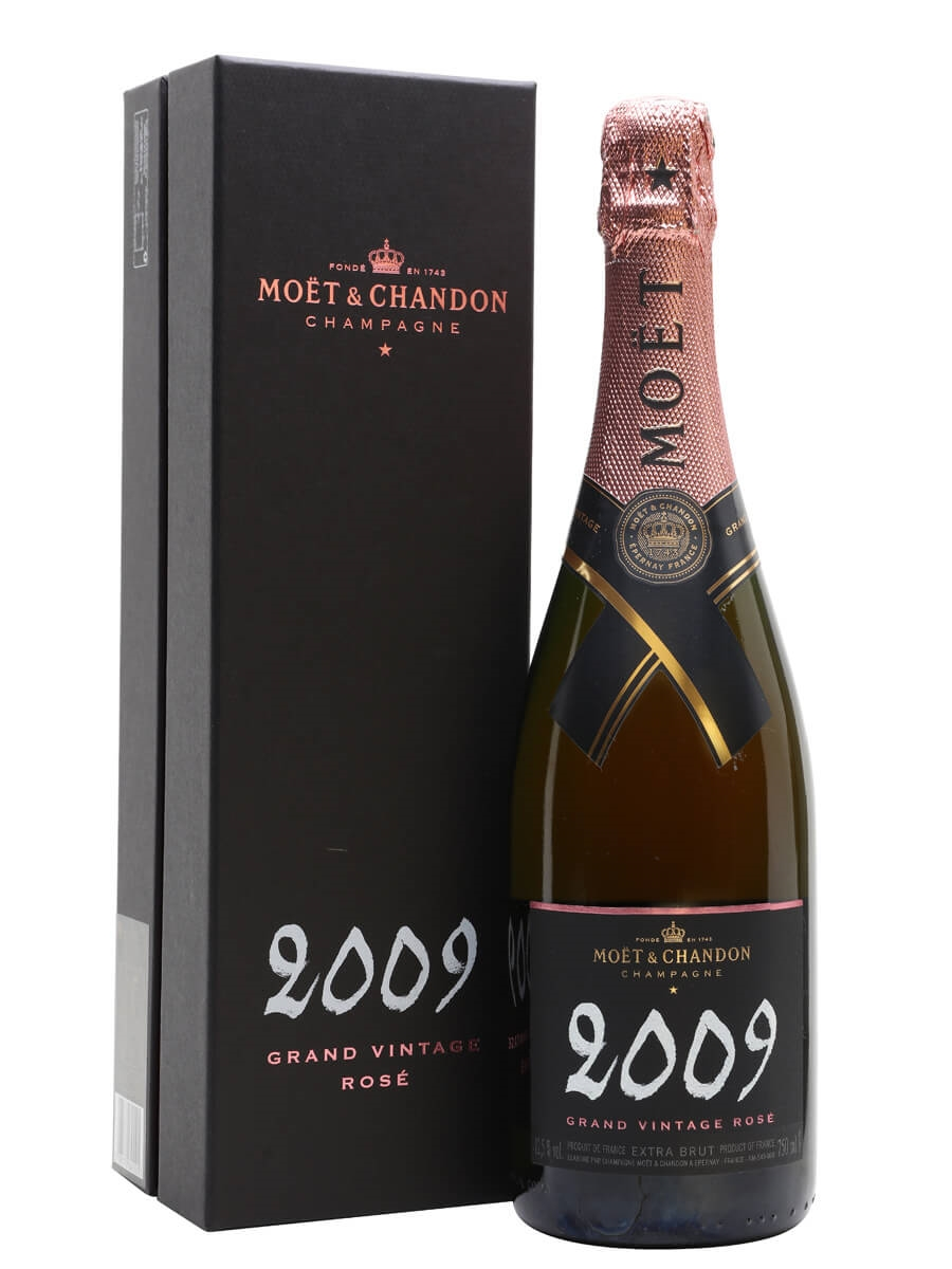 Moët & Chandon 2009 Grand Vintage Rose Champagne Gift Box