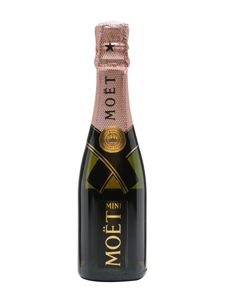 Moet Chandon Rose Imperial Nv Champagne Small Bottle