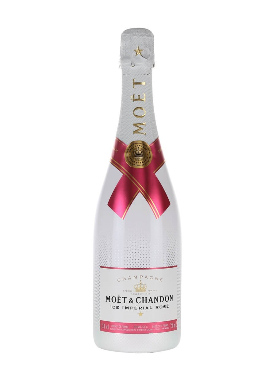 Moet ice imperial rose champagne the whisky exchange for What is rose champagne