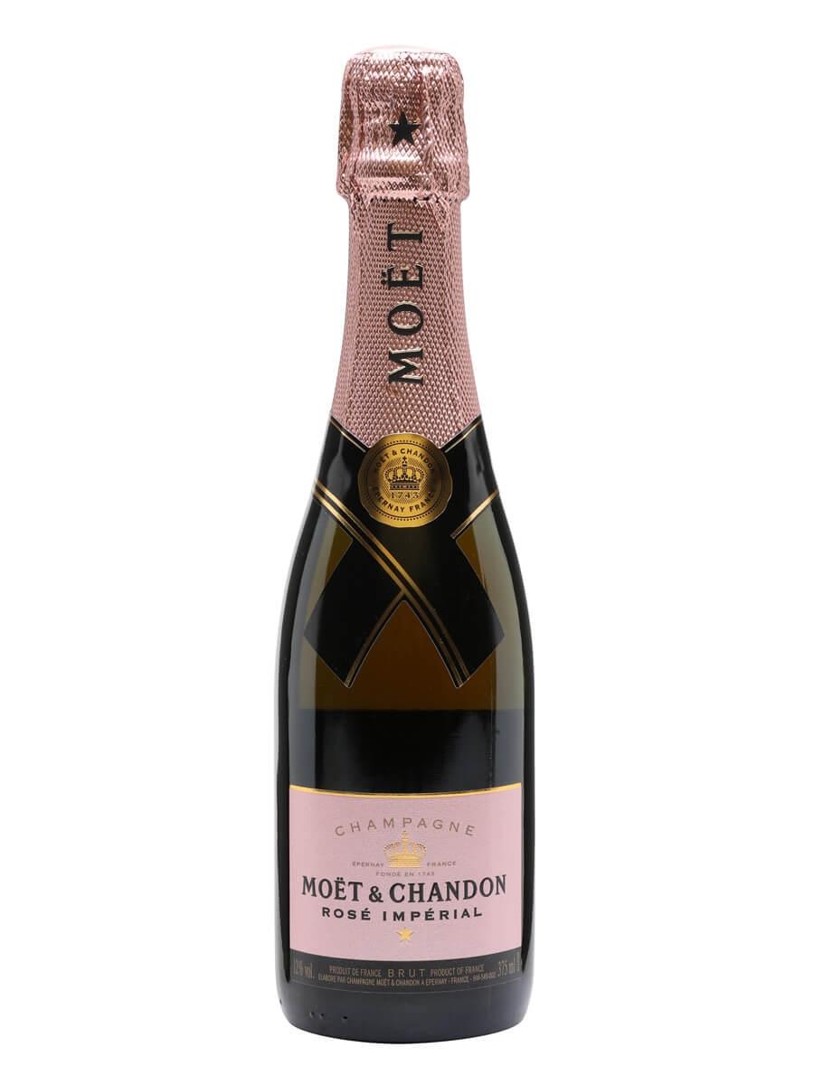 moet chandon rose imperial champagne half bottle the whisky exchange. Black Bedroom Furniture Sets. Home Design Ideas