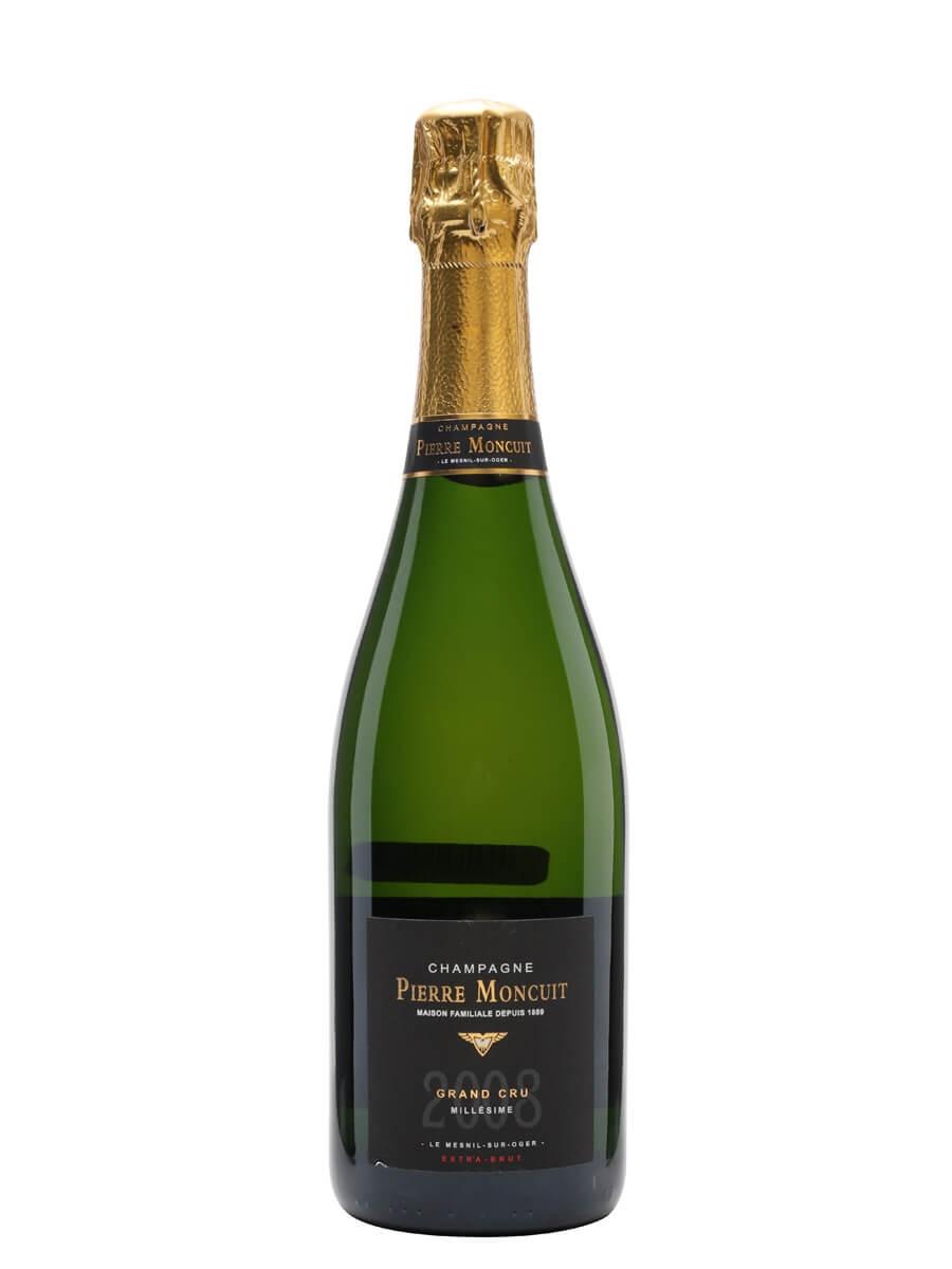 Pierre Moncuit Grand Cru Extra Brut Mesnil 2008 Vintage Champagne