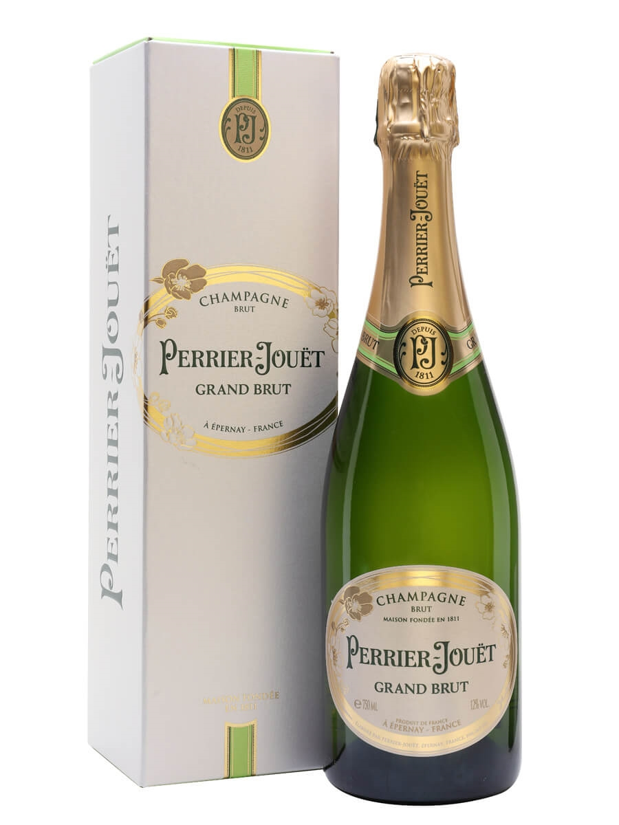 Perrier-Jouet Grand Brut Champagne / Gift Box
