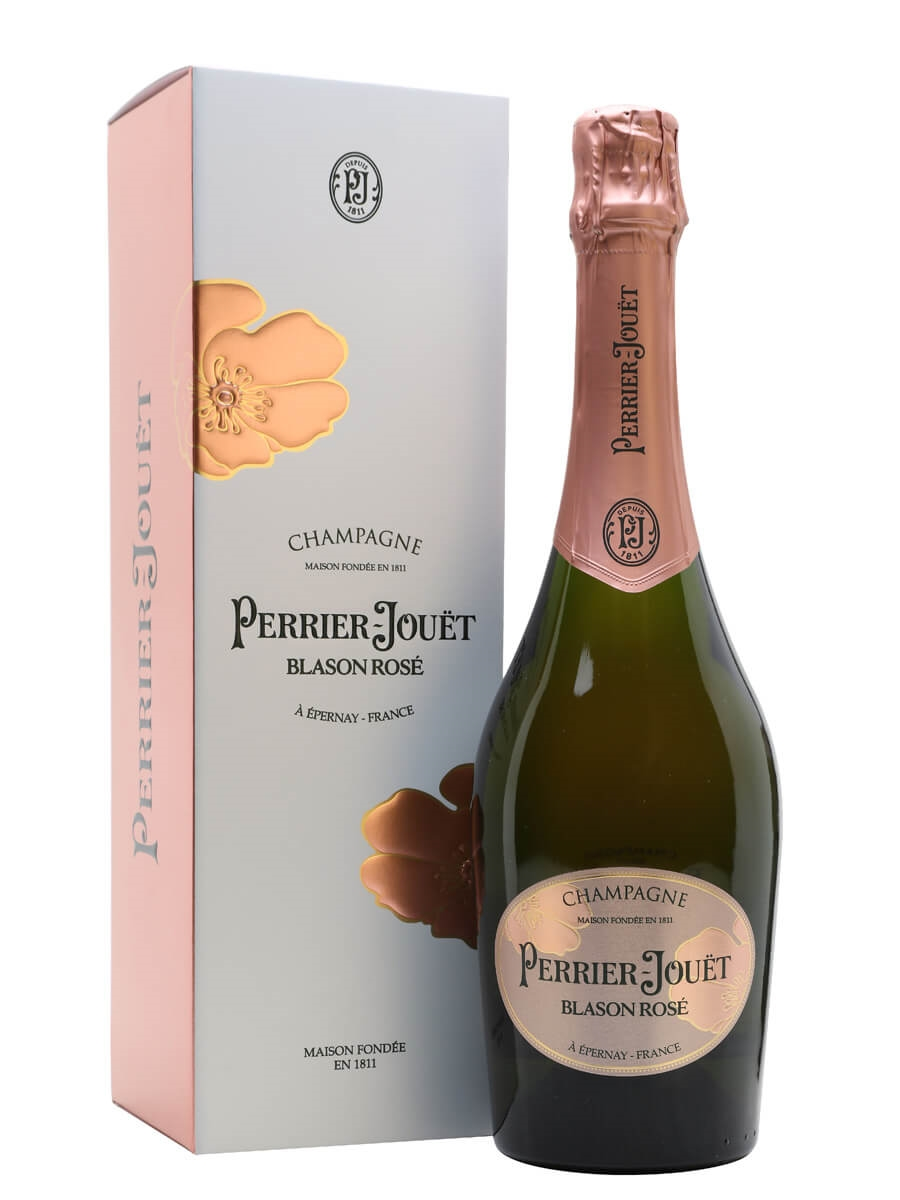 Perrier Jouet Blason Rose Champagne / Gift Box
