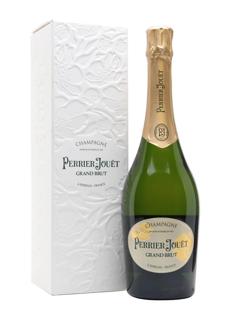 Perrier-Jouët Grand Brut Champagne / Ecobox