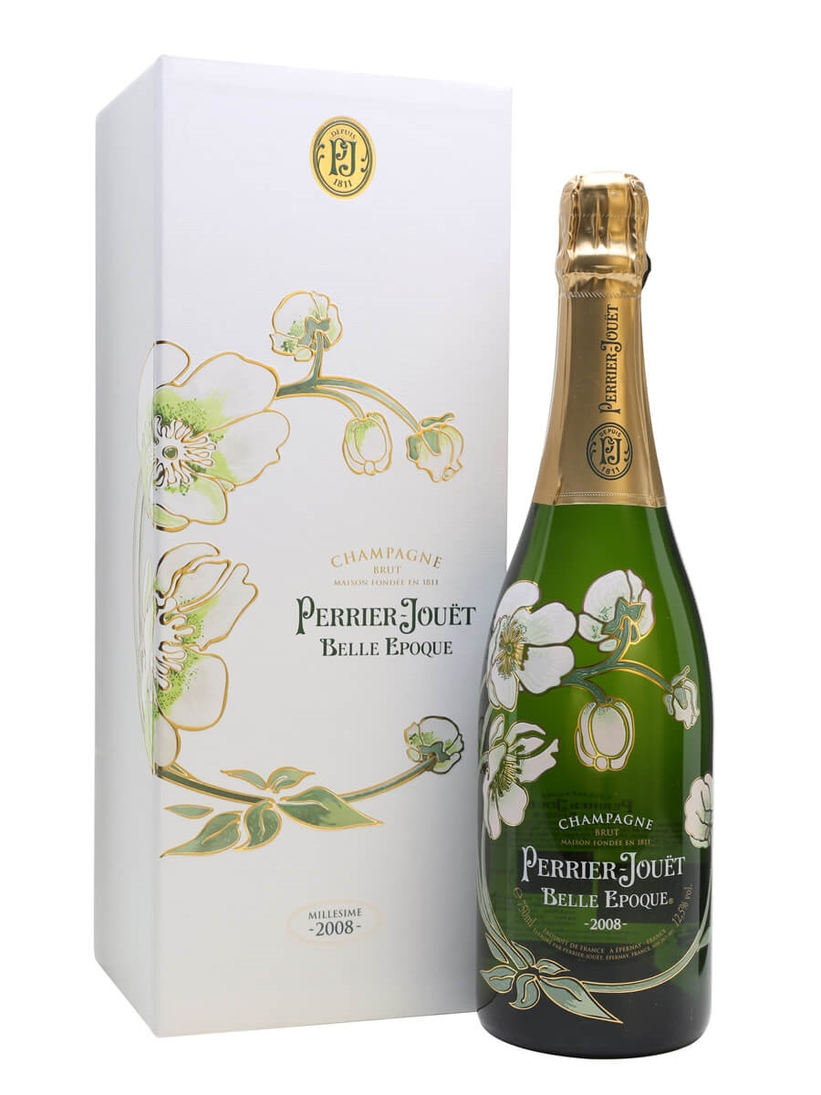 perrier jouet 2008 belle epoque champagne boxed the whisky exchange. Black Bedroom Furniture Sets. Home Design Ideas