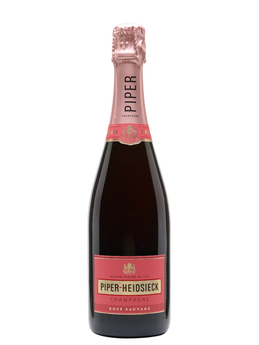 Piper Heidsieck Rose Sauvage NV Champagne