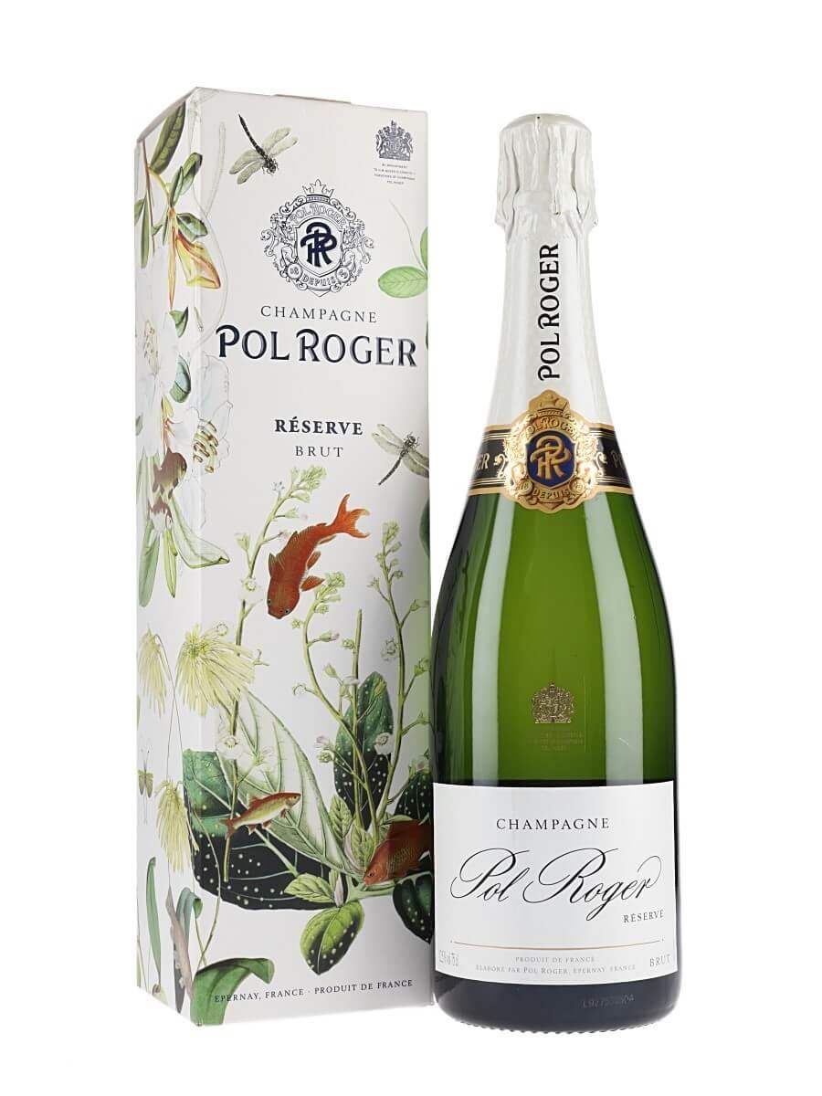 Pol Roger Reserve NV Champagne / Gift Box