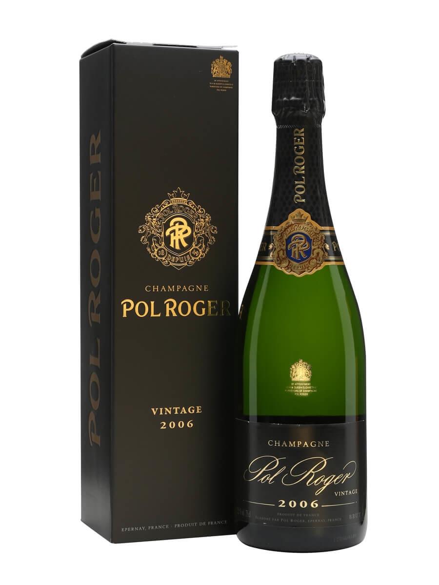 Pol Roger Brut Vintage 2006 Champagne
