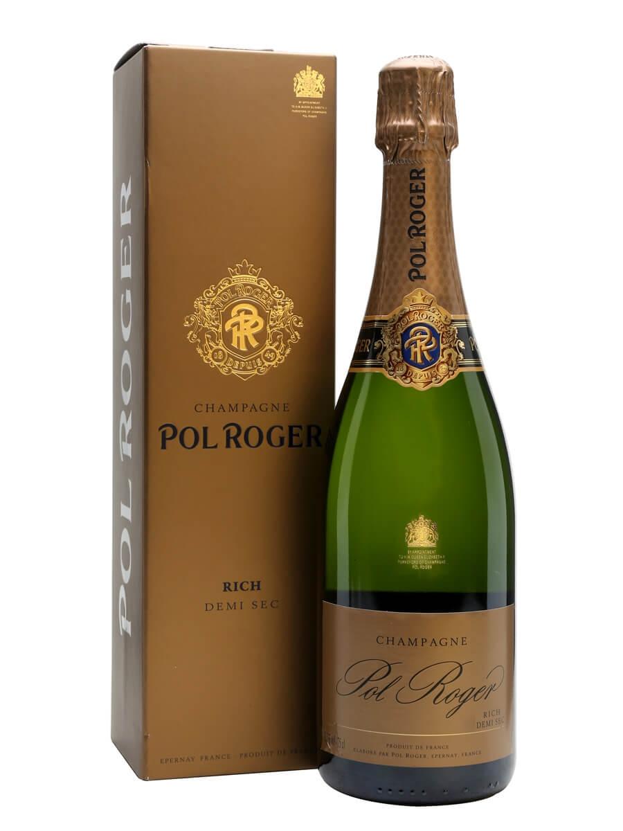Pol Roger Rich Champagne