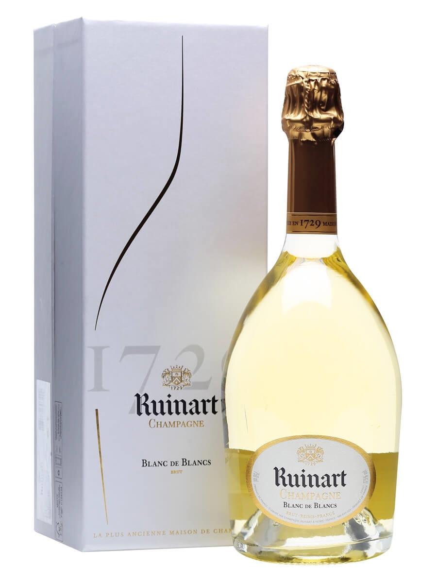 Ruinart Blanc de Blancs Champagne / Gift Box