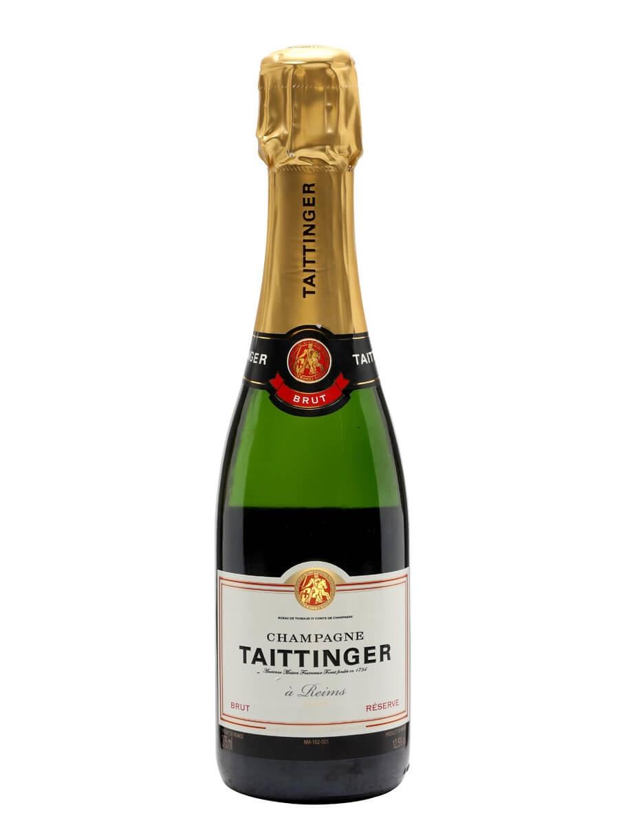 Taittinger Brut Reserve NV / Half Bottle