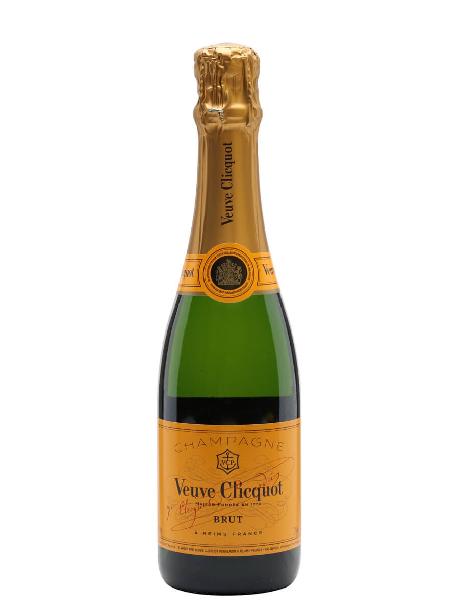 Veuve Clicquot Yellow Label NV Champagne / Half Bottle