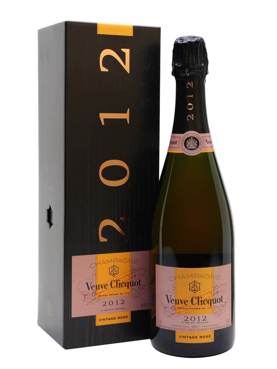 Veuve Clicquot Rosé 2012 Vintage