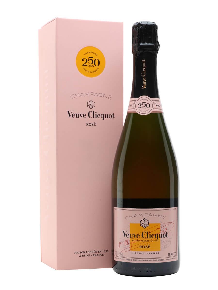 Veuve Clicquot Rose NV Champagne / Gift Box