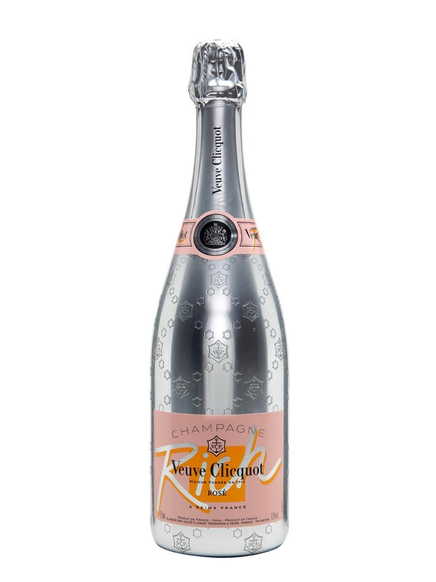 Veuve Clicquot Rich Rose NV Champagne