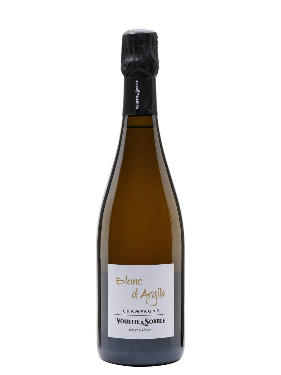 Champagne Vouette et Sorbee Blanc d'Argile