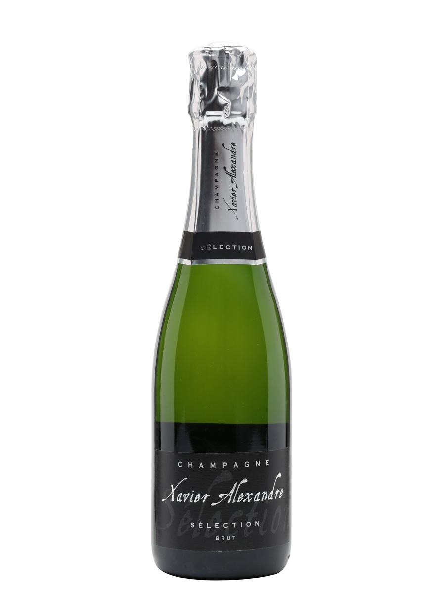 Xavier Alexandre Brut NV Champagne / Half Bottle