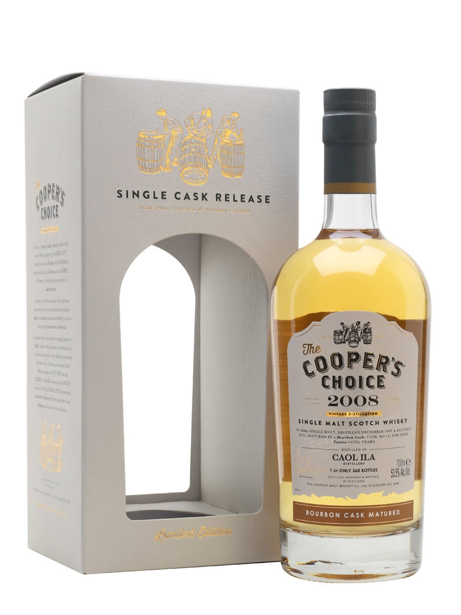 Caol Ila 2008 / 12 Year Old / The Cooper's Choice