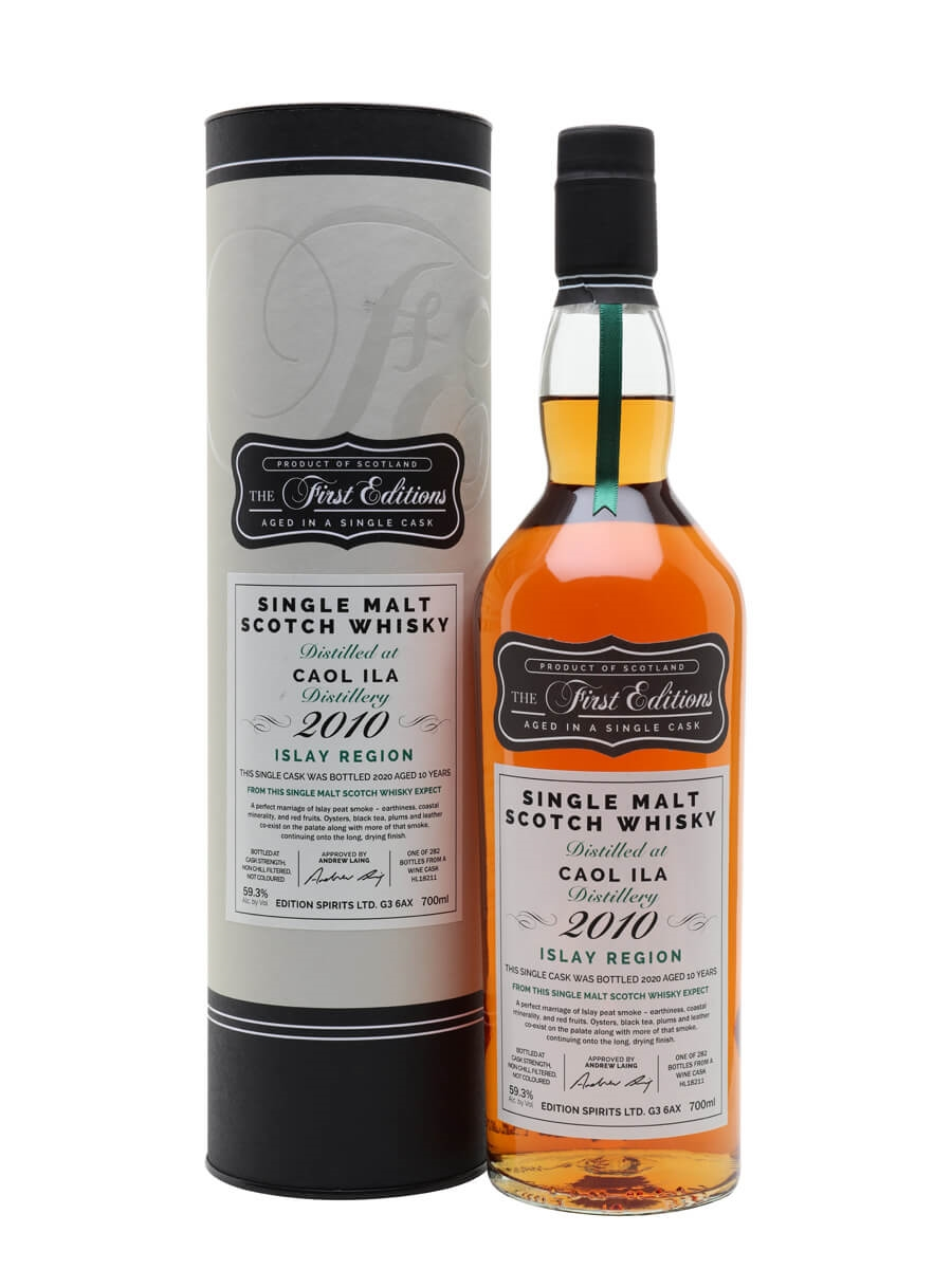 Caol Ila 2010 / 10 Year Old / First Editions