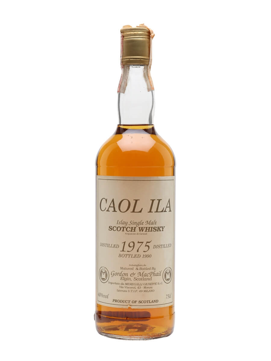 Caol Ila 1975 / Bot.1990 / Gordon & MacPhail