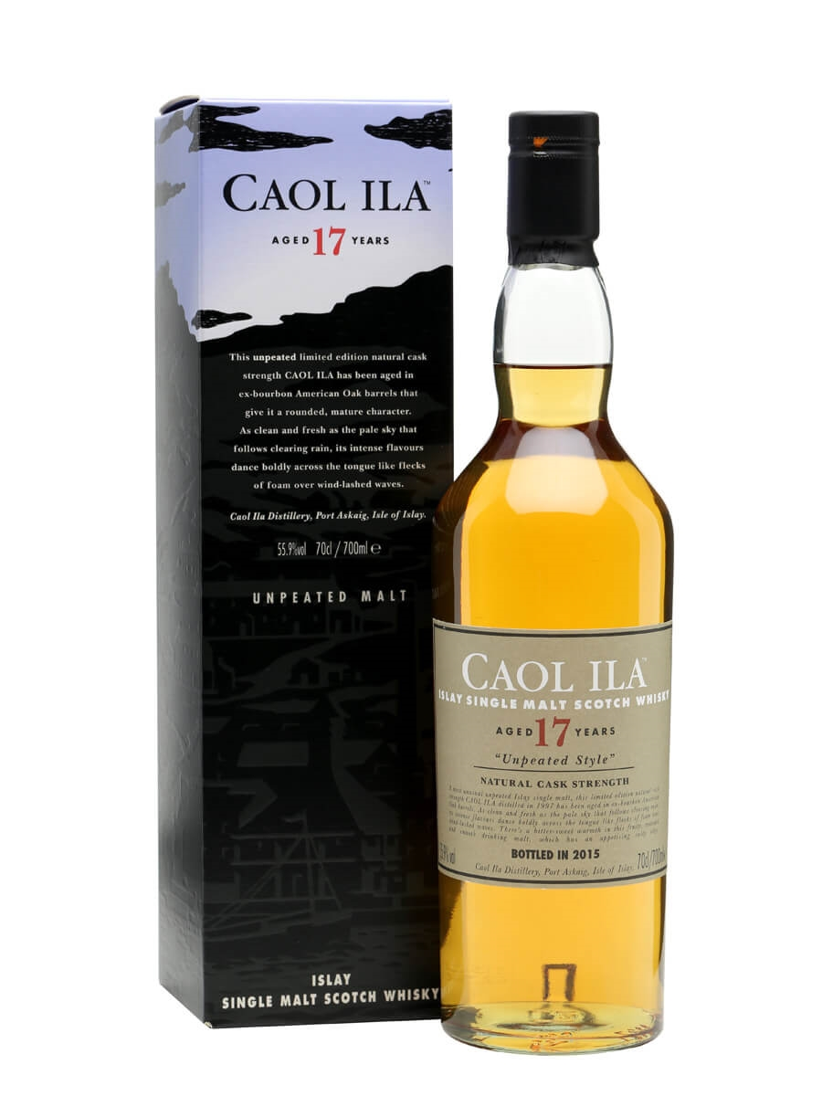 Caol Ila 17 Year Old / Unpeated / Special Releases 2015