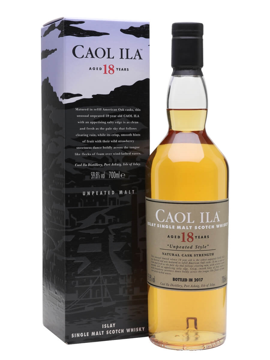 Caol Ila 18 Year Old / Unpeated / Special Releases 2017