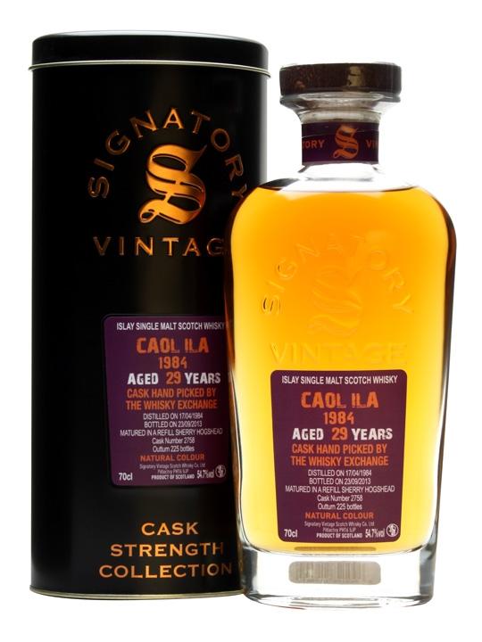 Caol Ila 1984 / 29 Year Old / Sherry Cask / Signatory