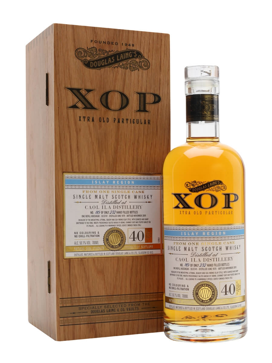 Caol Ila 1979 / 40 Year Old / Xtra Old Particular