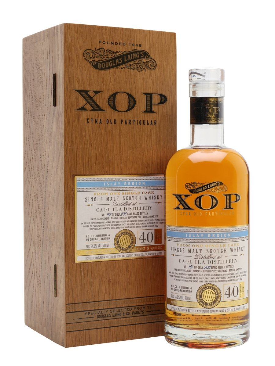 Caol Ila 1980 / 40 Year Old / Xtra Old Particular