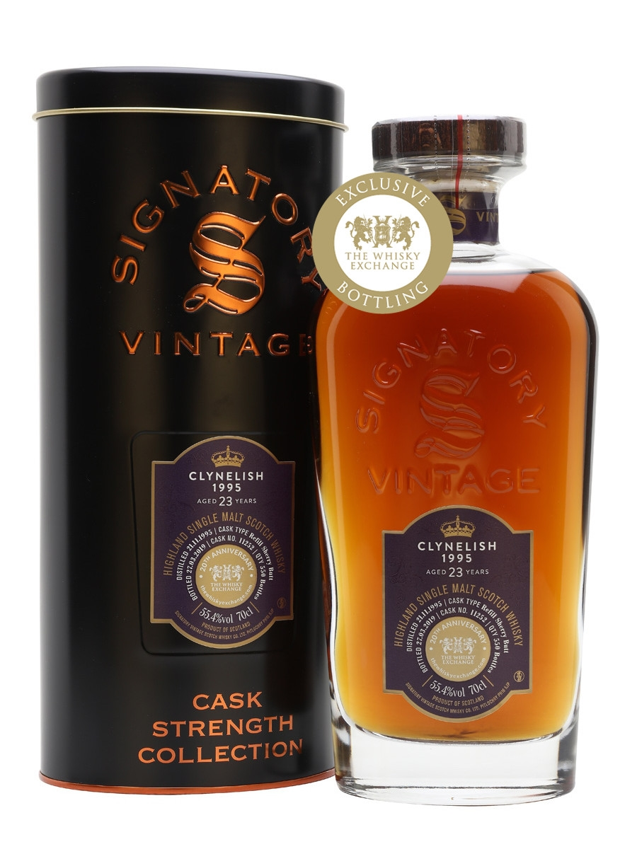 Clynelish 1995 / 23 Year Old / Sherry Cask / Signatory for TWE