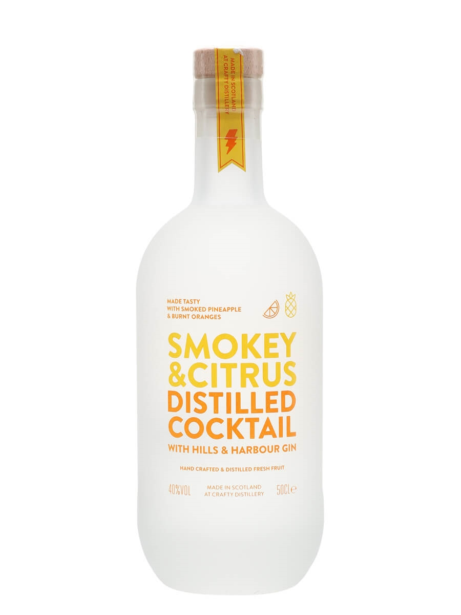 Smokey & Citrus Distilled Cocktail / Hills and Harbour Gin