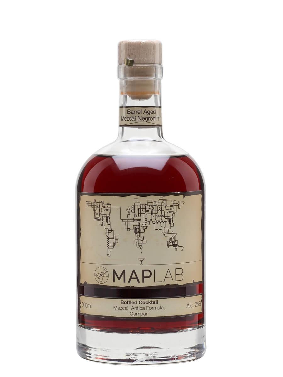 Maplab Barrel Aged Mezcal Negroni