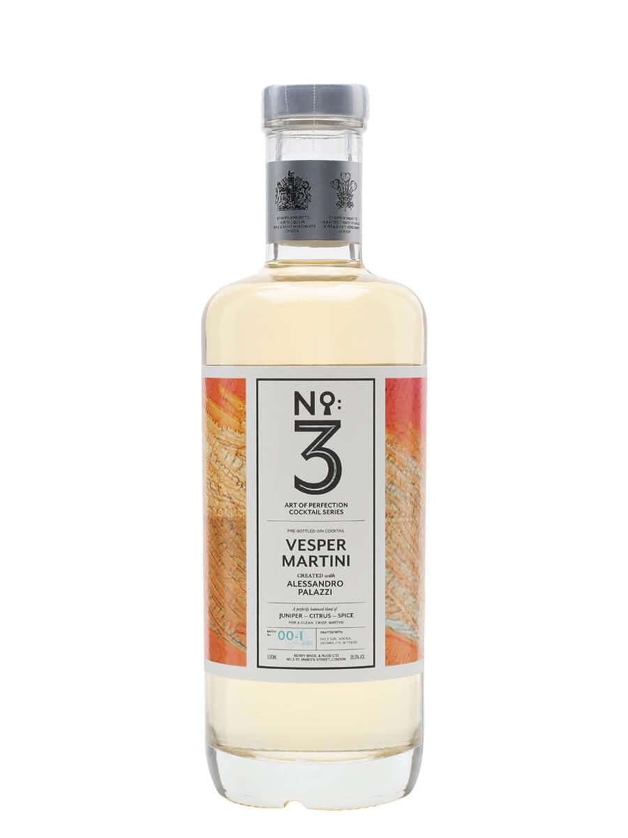 No. 3 Vesper Martini