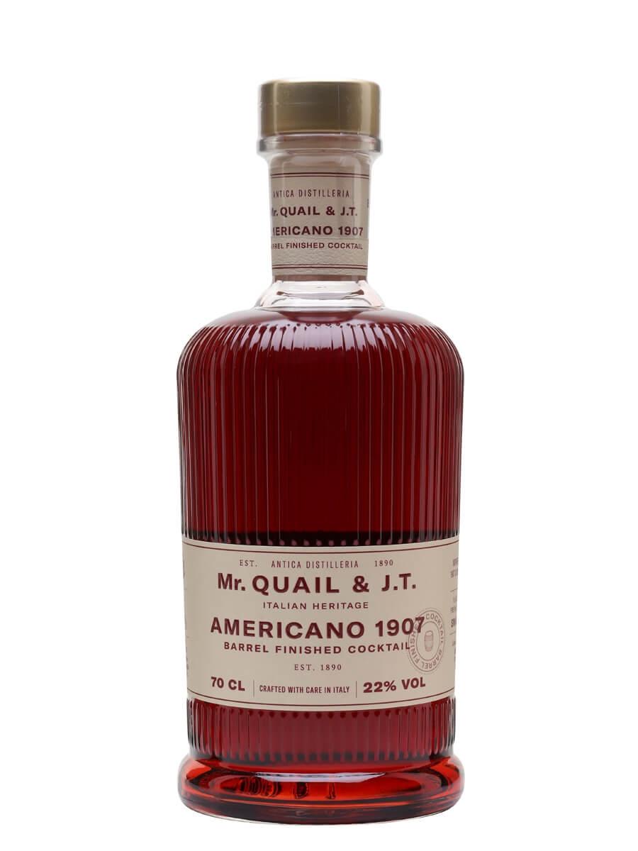 Mr Quail & J.T Americano 1907 Barrel Finished Cocktail