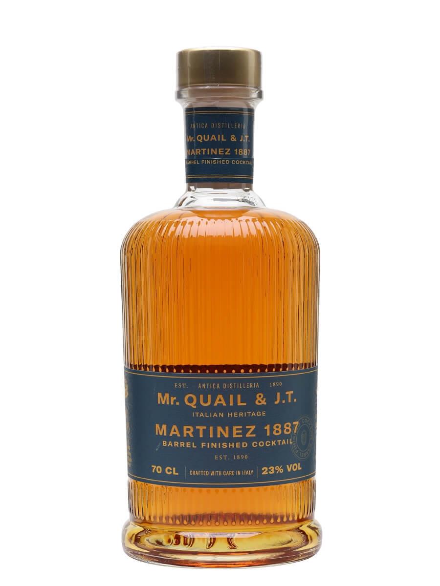 Mr Quail & J.T Martinez 1887 Barrel Finished Cocktail