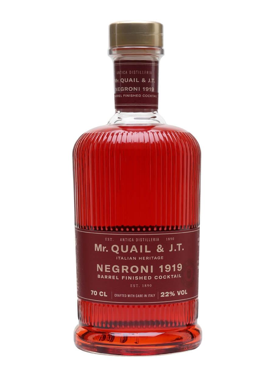 Mr Quail & J.T Negroni 1919 Barrel Finished Cocktail